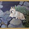 The Yaquina Art Association will feature the art of two local artists, Josephine Allen and Cody Cha