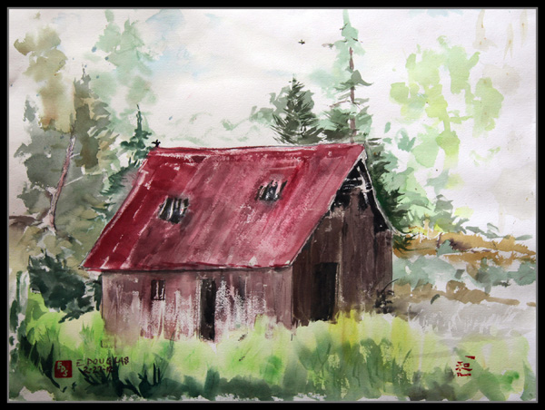 """The Barn"" by Douglas Sheldon"