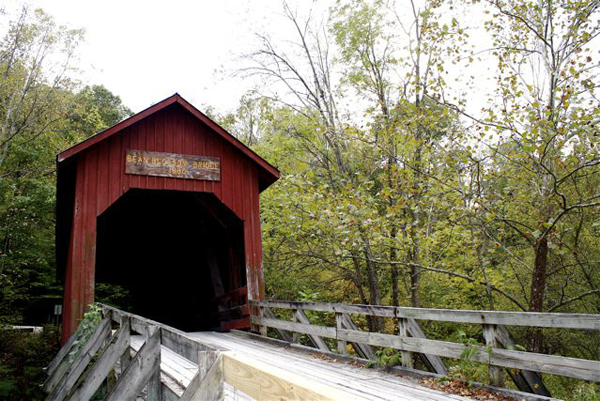 """Covered Bridge"" by Claire McGee"