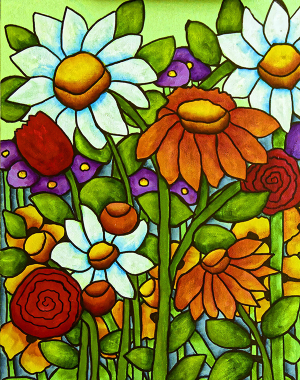 """Crazy Daisies"" by Alana Williams"