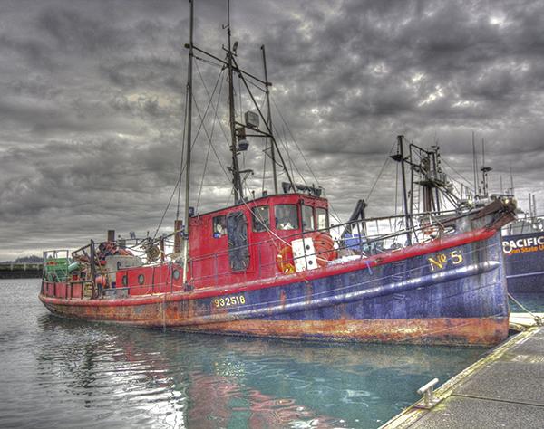 """""""FV No. 5 At Dock"""" by John Williams"""