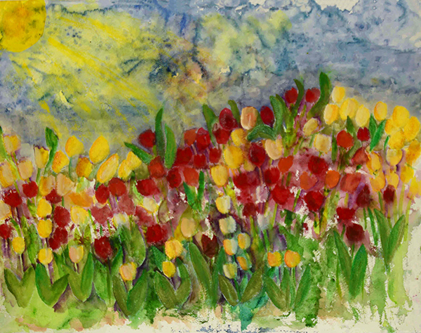 """Tulip Garden"" by Alana Williams"